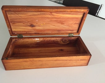 Antique Cedar Lined Wooden Box By Gatormom13