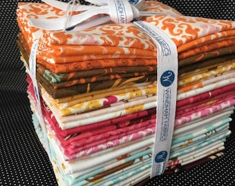 Mendocino by Heather Ross Precut Fat Quarter Bundle from Windham Fabrics