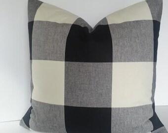 Buffalo Check Pillow Etsy