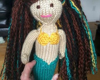 Custom Mermaid RESERVED for Brooke C.
