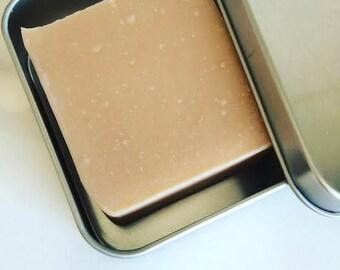 TOBACCO + BAY LEAF Shave Soap - Travel Shave Soap - Shaving Soap - Shave Bar