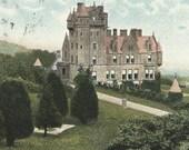 BELFAST CASTLE Cave Hill Belfast Ireland Vintage 1906 postcard W Lawrence publisher Northern Ireland
