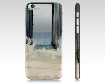 Beach Phone Case - Ocean Wave Cover - Art Phone Case - Pier Photo - iPad Mini Case - Samsung Galaxy S4 S5 - iPhone Cover 6 6S - 5 5S Case