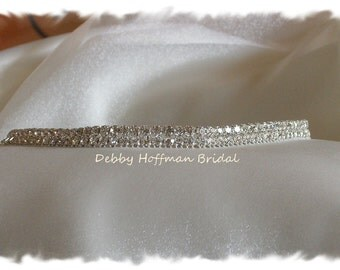Rhinestone Flower Girl Belt, Jeweled Flower Girl Sash, Crystal Flower Girl Sash, Girls Crystal Belt, First Communion Belt Sash, No. 6000FGS