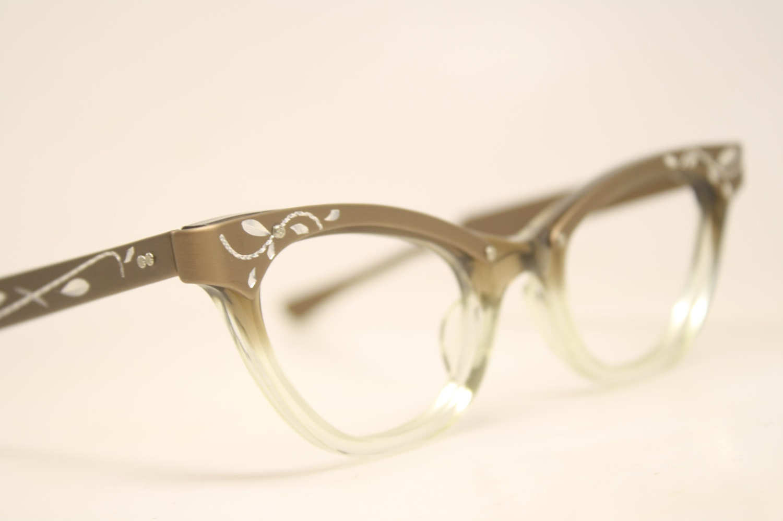 Small Frame Cateye Glasses : cat eye glasses vintage cateye frames eyeglasses