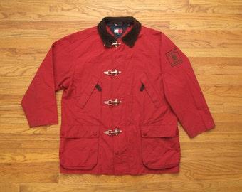mens vintage Tommy Hilfiger sailing jacket