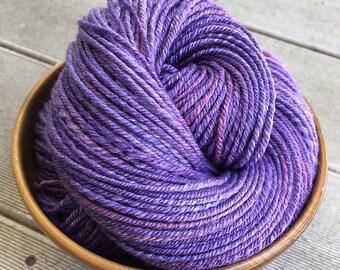 3ply sport weight handspun yarn - 205 yds