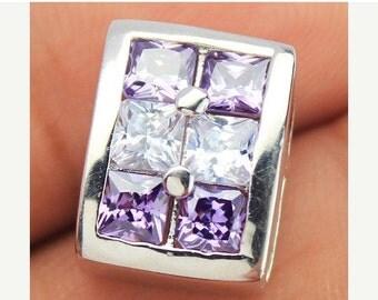 VALENTINE SALE 55% Zircon Sterling Silver Earrings 1589PD