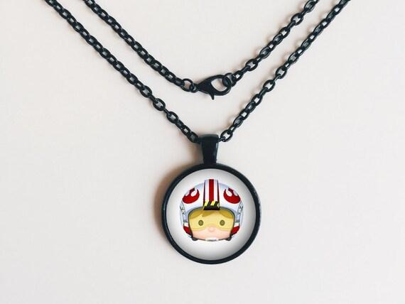 Luke Skywalker from Star Wars Tsum Tsum Necklace or Keychain