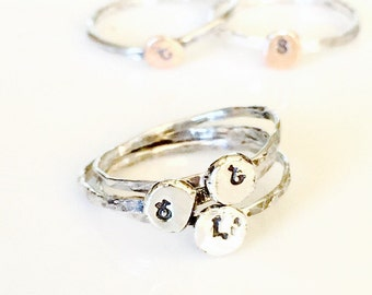 Armenian Ring-Handstamped Ring