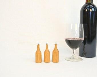 Holiday - Set of 3 Wine Bottle Ornaments