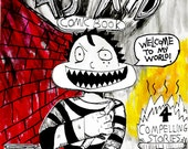 45 kid comic, premiere issue, trigger warning