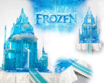 New Custom Disney Elsa Frozen Castle Inspired - from Lego Ideas