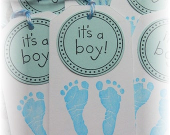Baby Tags - Baby Boy Tags -  It's a BOY tags (8)