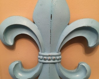 fleur De Lis Wall Decor / Wall Decor /  Fleur De Lis Wall Decor / Wall Decor