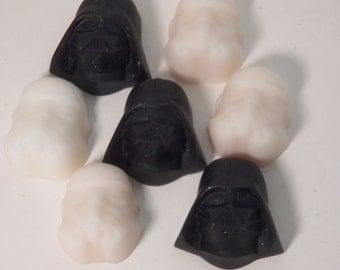 Darth Vader & Storm Trooper soap set