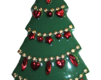 Green & Red Christmas Tree