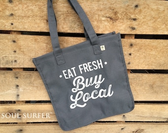 Eat Fresh Buy Local Market Tote