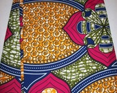 Latest design African fabric per yard/ African print fabrics/ Trendy wax print fabrics/ African fabric wholesale/ African Maxi Skirt fabric