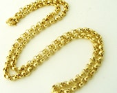 Vintage 18 inch rolled gold /gold filled belcher chains New /Old stock from the 1980s