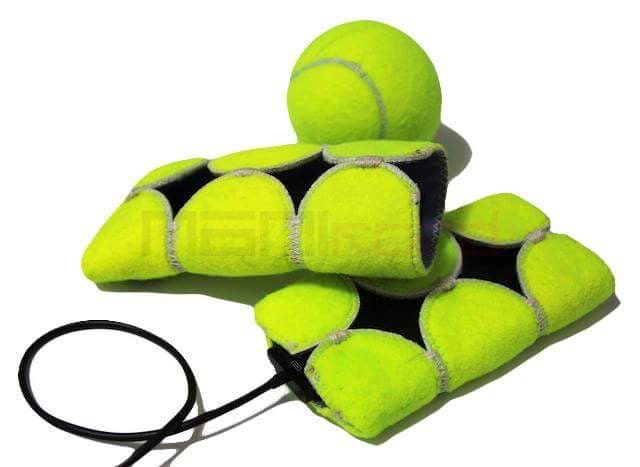 Handmade recycled tennis ball iphone se 5 5s 4 4s - Can tennis balls be recycled ...