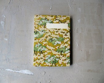 retchoso Japanese sketchbook journal - Chiyogami cherry blossom