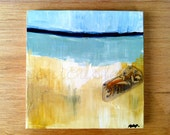 Your Thousand Layers Original Mixed Media Painting Small