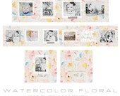 Watercolor Floral 3x3 WHCC Accordion Album