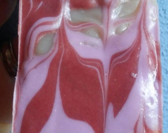 Butterfly's Flower Soap, Orchid Pink Amber Bath Body Works Gift for Women & Teens, Handmade Soap, Compassionatefriends