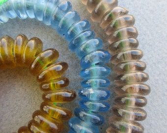 African Glass Beads -3 Colors