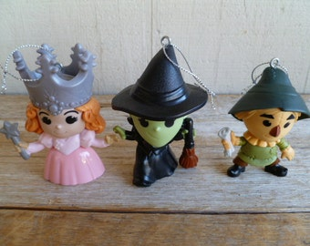 Wizard of Oz Christmas Ornaments McDonalds Happy Meal