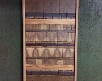 "Reclaimed Wood Wall Art: ""Dashing"""