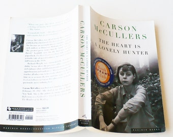 Carson McCullers The Heart is a Lonely Hunter, Fiction, Literature, Literary Fiction