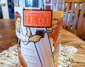 1983 Return of the Jedi Drinking Glass-Taste the Vintage Adventure