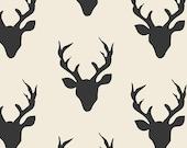 SALE! Deer Fabric by the Yard Buck Forest Night Hello Bear Bonnie Christine Art Gallery Fabrics