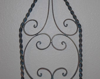 Iron Candle Holder - Vintage