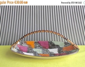 Summersale Vintage Mid Century West German Pottery Tray by Bay