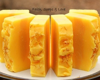 Lemon Verbena Handmade Soap - Citrus - Lemon - Homemade Soap - Scripture - John 3:16 - Christian Soap Ministry Tool Bible Study
