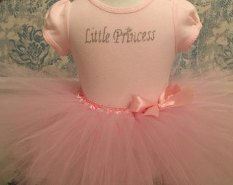 Little Pink Princess Tutu & Onesie Set-Princess Tutu-Pink Princess