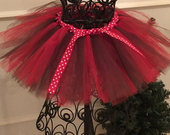 Red and Brown Tutu