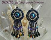 LoveU BLING BLING Bead Embroidered Earrings