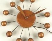 On sale vintage George Nelson Howard Miller ball clock