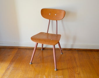 "Vintage ""Classmate"" Pre-School Bentwood Chair by the American Seating Company"