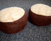 Reserved Listing for Rebecca, Set of 2 Kids Log Seat
