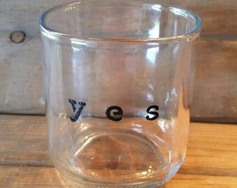 Sedona glass - Upcycled Wide-Mouth Glass (YES)