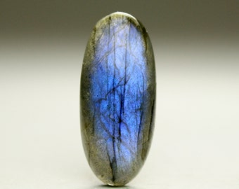 Glowing Labradorite Cabochon, Ideal for Jewelry Designers and Artisans