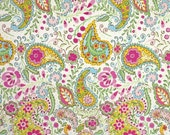 SALE - Paisley Pink (PWDF186) - Dena Fishbein Designs - TIDDLYWINKS - Free Spirit Fabric  - By the Yard