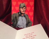 Quint Jaws Valentine's Day Card