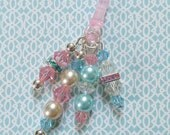 Cotton Candy Crystal Cell Phone/Tablet Charm