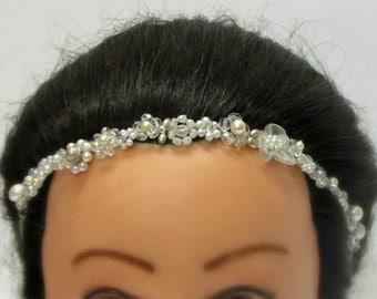 Bridal crystal crown, Wedding crystal Crown, Bridal crystal headband, Wedding crystal Tiara, Bridal crystal Tiara, Wedding crystal headband